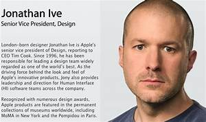 Jony Ive talks about the link between design and ...