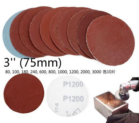 auto bis 3000 100 tlg 75mm auto sandpapier schleifpapier 80 grob bis 3000 fein k 246 rnungen ebay