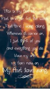 First Love Song by Luke Bryan lyrics. Country quotes ...