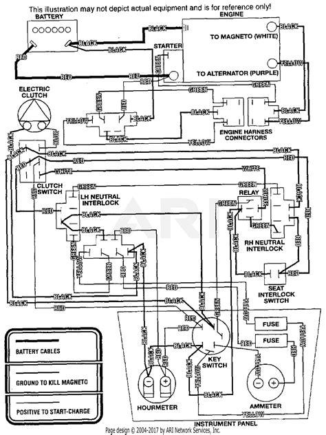 scag ssz 20cv 40000 49999 parts diagram for electrical