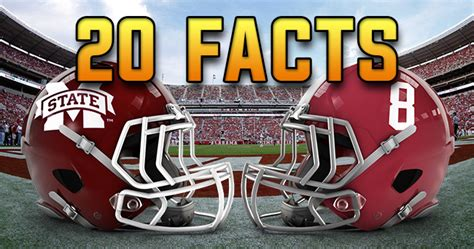 fun facts  mississippi state  alabama