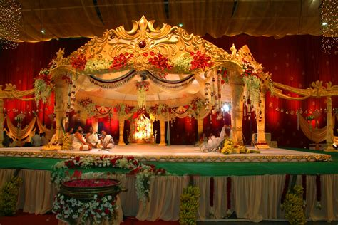 indian wedding sets stage designs