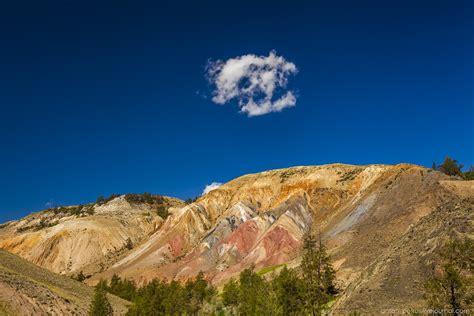 stunning martian landscapes  altai republic russia