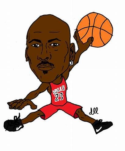 Jordan Michael Basketball Cartoons Cartoon Clipart Nba