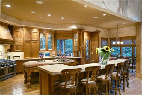 open house plans with large kitchens featured house plan pbh 5555 professional builder house plans
