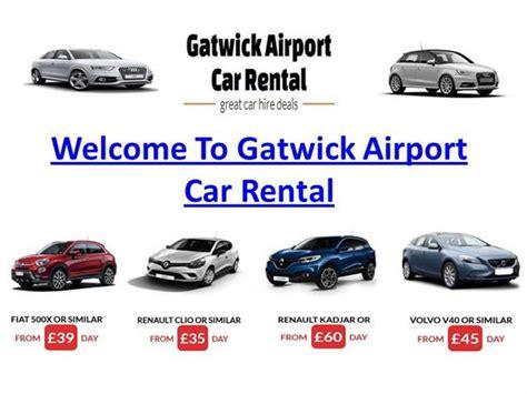 Car Hire At Gatwick Airport |authorstream