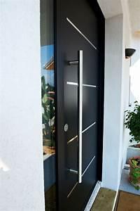 Barre De Porte D Entrée : porte d 39 entr e aluminium cotim 11 porte aluminium design ~ Premium-room.com Idées de Décoration