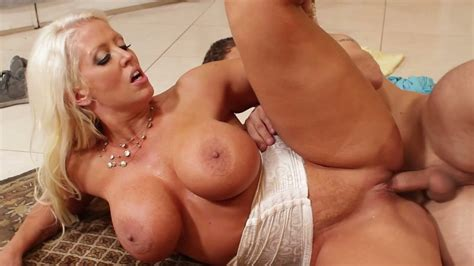 Yummy Blond Milf With Fake Boobs Alura Jenson Had Hard Sex With Kinky Johnny Castle