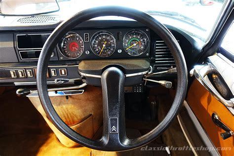 citroen ds  pallas bronze classic throttle shop