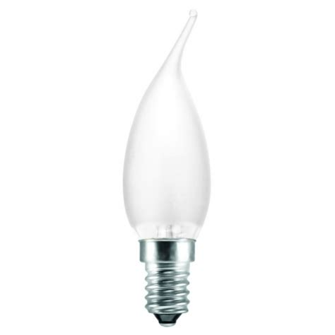 tip frosted pearl 40w ses e14 candle bulb