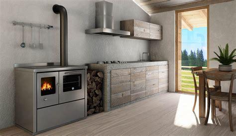cucina economica  legna pertinger okoalpin camini