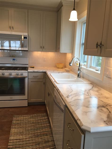 formica fx  calcutta marble  ideal edge kitchen