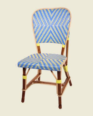 chaise drucker traditional rattan structure maison drucker