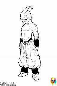 Dragon Ball Z Kid Buu Coloring Pages