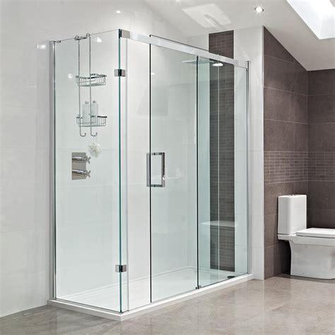 sliding glass doors  bathroom interiors