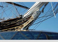 Photos of Cutty Sark in Greenwich, rigg and main deck