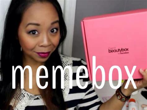 Meme Box - memebox new korean beauty products