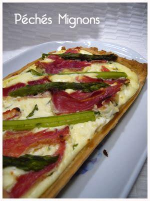 tarte aux asperges ricotta et parme p 233 ch 233 s mignons