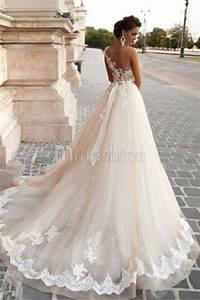 robe dentelle mariee le son de la mode With site de robe de mariée avec bijoux alliance femme
