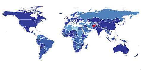 visualizing mental illness worldwide