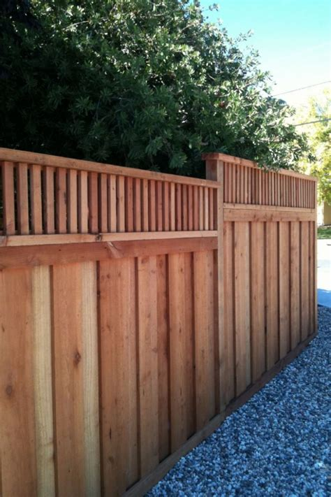 borg fence and decks los angeles livermore redwood fence company borg fence