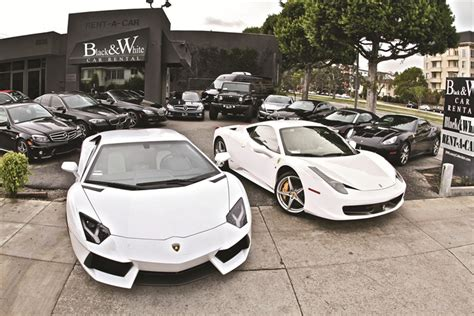 Niche And Famous  Exotic Car Rental Company Blossoms In L