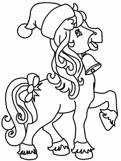 Horse Coloring Pages Cartoon Printable