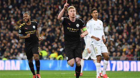 EN VIVO: Manchester City vs Real Madrid | Octavos de Final ...