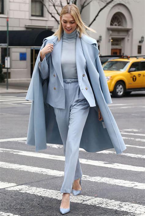 Karlie Kloss Arriving The Ralph Lauren Show New