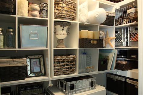 Closet Storage Units by Organizing A Junk Closet With Cube Storage Units