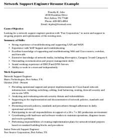 resume of network test engineer sle network engineer resume 9 exles in word pdf