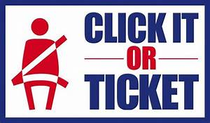 Click it or Ticket enforcement campaign begins May 23 ...