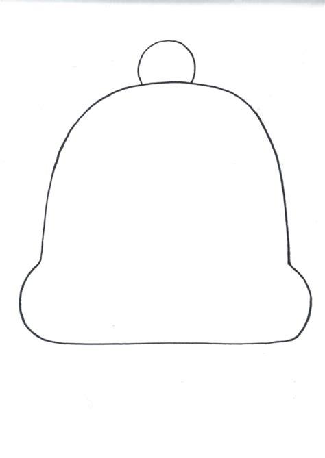 blank winter hat template printable