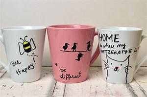 Tassen Bemalen Kinder : tassen bemalen eine einfache geschenkidee travel lifestyleblog ~ Orissabook.com Haus und Dekorationen
