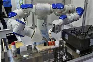 Industrial robots lack smart, strong, sensitive human touch