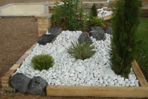 Parterre Jardin Tunisie by Galet Blanc Thomas Sograma