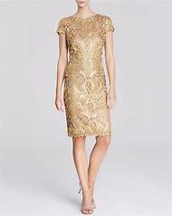 Tadashi Shoji Lace Sleeve Dress