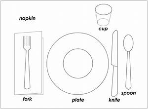 Child Setting Table Clipart (25+)