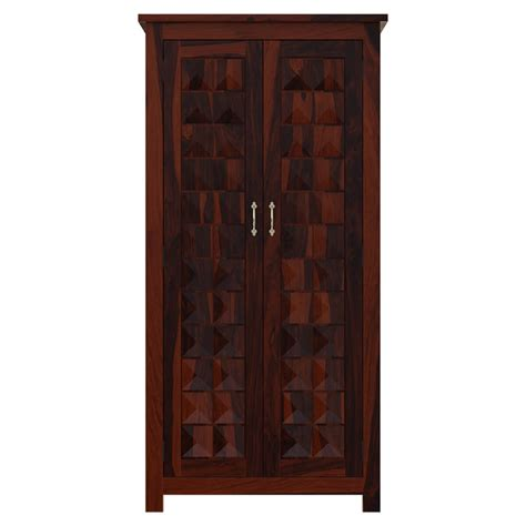 Wood Armoire Closet by Clatonia Solid Wood Point Door Armoire
