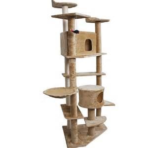 cat tree furniture new 80 quot cat tree condo furniture scratch post pet house