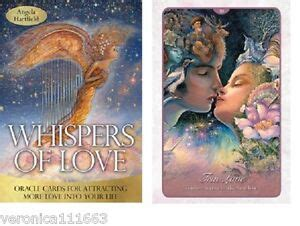 whispers of new 50 cards inspirational oracle a hartfield josephine wall ebay