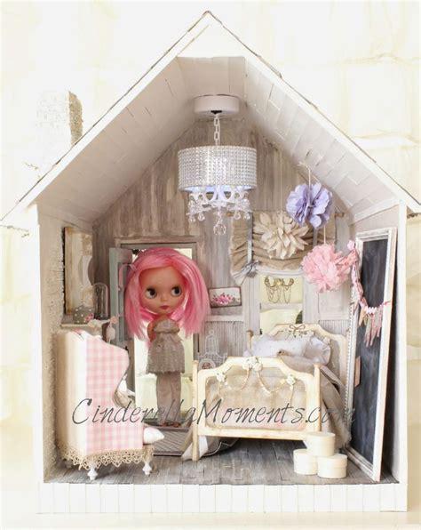 shabby chic dollhouse cinderella moments blythe dollhouse custom cinderellamoments custom dollhouses pinterest a