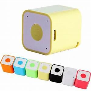 Mini Square Bluetooth Speaker Smart Box Portable Handfree ...
