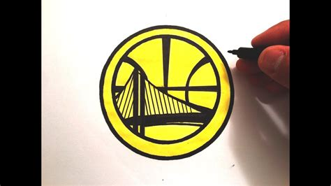 Golden State Warriors Logo Drawing