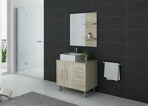 Relooker Meuble Salle De Bain : meuble de salle de bain simple vasque ref florence sc ~ Melissatoandfro.com Idées de Décoration