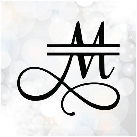 image result   svg split monogram font