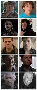 Actors who have played Dean Winchester - Then and Now ...