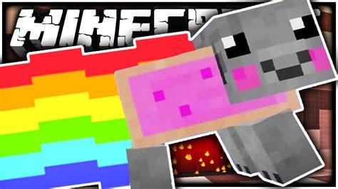 minecraft  nyan pig battle youtube