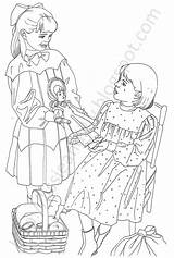 Coloring Pages Samantha Lilly Lissie sketch template