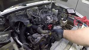 How To Replace The Thermostat Housing On A 2011 Ford 4 0 V6  Parts Link Below